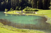 Lake of Montriond in France — Stock Photo