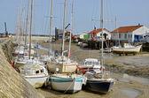 Port of Noirmoutier en Ile in France — Stock Photo