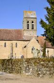 Church of Saint-Ceneri-le-Gerei in France — Foto Stock
