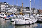 Port of Courseulles sur Mer in France — Stock Photo