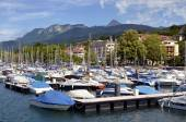 Port of Evian-les-Bains in France — Stock Photo