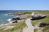 Pointe du Conguel at Quiberon peninsula in France — Stock Photo