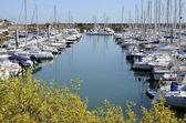Port of Pornichet in France — Stock Photo