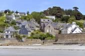 Village Saint-Michel-en-Greve in France — Stock Photo
