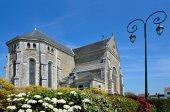 Kilisesi, Saint-Michel-Şef-şef Fransa — Stok fotoğraf