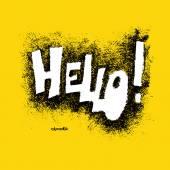 Comic speech humor funny cartoon bubble sketch design background — Stock Vector
