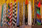 Colorful traditional indian jewelry — Stock Photo