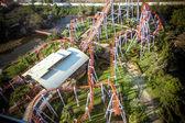 Bangkok, thailand 2013 30 maart roller coaster bijhouden op droomwereld — Stockfoto