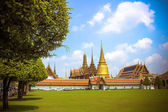 Palace of king Of Thailand. Opened as a tourist destination in Asia — Stock Photo