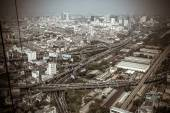 Thailand bangkok view from Baiyoke Tower on 29 march 2013 — Stock Photo