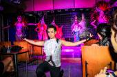 KOH SAMUI, THAILAND 2013, 2 APRIL Transvestites in Chaweng nightclub — Stock Photo