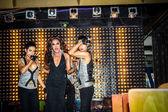 KOH SAMUI, THAILAND 2013, 2 APRIL Transvestites in Chaweng nightclub — Stock Photo
