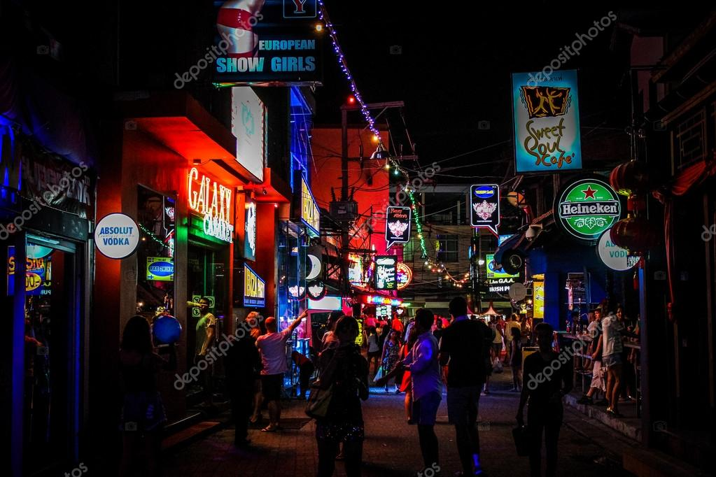 Koh samui, Tailandia vida nocturna calle 02 de abril de ...