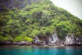 Wapienna wyspa Morza Andamańskiego — Zdjęcie stockowe
