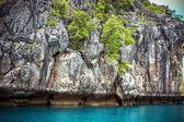 Limestone island  of the Andaman Sea — Photo