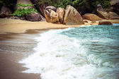 Lamai beach on Koh Samui — Stock Photo