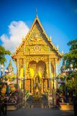Buddhist temple in Samui island, Thailand — Stock Photo