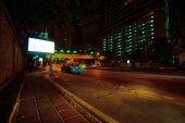 Trafic de nuit à bangkok — Photo