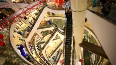 BANGKOK 3 august 2014,  People shop at Central World. HD. 1920x1080 — Stock Video
