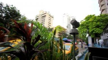 Typical urban style town homes. Bangkok city. HD. 1920x1080 — ストックビデオ