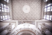 Interior antique roof in Moscow building — Stock Photo