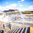 White River cruise boat on Moscow river — Stock Photo #65225477
