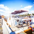 White River cruise boat on Moscow river — Stock Photo #65225511