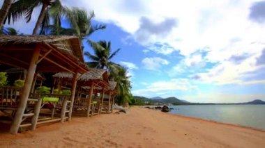 Time lapse beautiful sea view on Koh Samui 1920x1080 — Stock Video