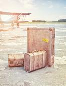 Conceito de viagens ar vintage — Fotografia Stock