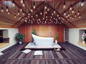 красивая баня — Стоковое фото