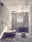 Noose in the prison — Stock Photo