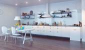 Wnętrze kuchni — Zdjęcie stockowe