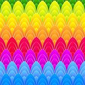 Background with rainbow ellipses — Stock Photo