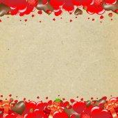 Valentines Day Border — Stock Vector