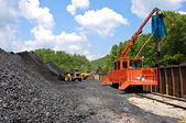 Loading Coal — Stock Photo