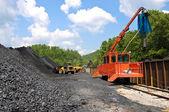 Loading Coal — Stock Photo