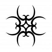 Tattoo tribal — Stock Vector