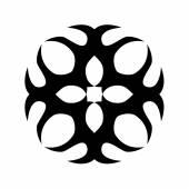 Muster. Ornament Design.Tattoo. — Stockvektor
