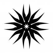 Vzorek. Ornament Design.Tattoo. — Stock vektor