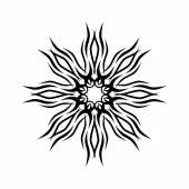 Pattern. Design. Tattoo. Ornament — Stock Vector