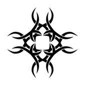 Padrão. Projeto. Tatuagem. Ornamento — Vetor de Stock