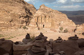 The Monastery in Petra, Jordan — Stock Photo