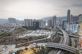 Hong kong modern city — Stock Photo