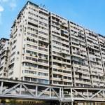 Old apartments in Hong Kong — Stock Photo #54816063