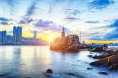 Hong Kong Sunset — Stock Photo