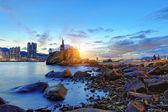 Coucher de soleil de Hong kong — Photo