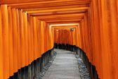 Fushimi Inari Taisha Shrine in Kyoto — Stock Photo