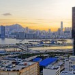 Hong Kong at Sunset — Stock Photo #76770571