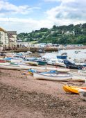 Teignmouth Estuary — Stock Photo