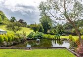 Garden at Cockington Village — Stock Photo
